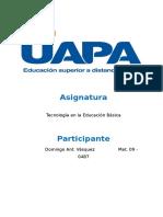 TAREA III TECNOLOGIA EN LA EDUACION BASICA.docx