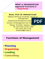MBA Mgmt 2 2 Mgmt Functions Orginizing