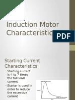 Induction Motor Characteristics