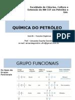 Aula 05 -Química do Petróleo (Funções Orgânicas)