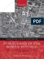 (Oxford Studies in Roman Society and Law) Saskia Roselaar-Public Land in the Roman Republic_ a Social and Economic History of Ager Publicus in Italy, 396-89 BC (Oxford Studies in Roman Society & Law)