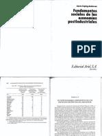 Esping-Andersen, G. Fundamentos Sociales de Las Economías Postindustriales. Cap 5 (1)