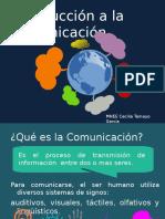 Introducción a La Comunicación Tema 1-2-3