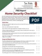 home security checklist final
