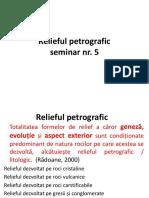 Relieful petrografic
