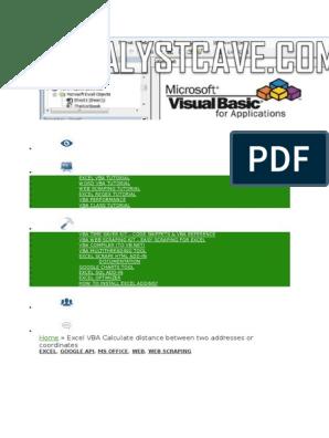 Aplicatie VBA dizertatie | Microsoft Excel | Computing