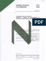 NTC 4024- Muestreo Prefabricados