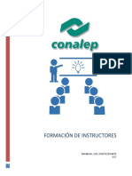 Manual de Formación de Instructores