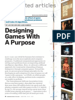 Designing Games With a Purpose