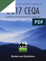 CEQA Handbook 2017