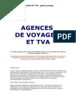 Agences de Voyages Et Tva