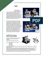 Product Sheet Komet