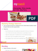 marketing plan mymuesli