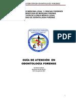 Guía de Atención en Odontologia Forense