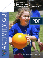 Summer 2017 Activity Guide