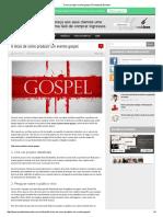 Como Produzir Evento Gospel _ Produzindo Eventos