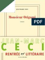 Jean-Marc Céci - Monsieur Origami