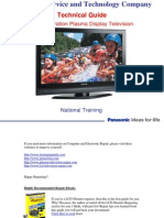 Panasonic 10th Gen PDP Tv Training Manual