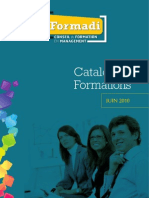 Catalogue Formations pour managers