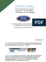Ford Motor Company & Scribd Case Study