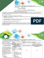 Guía de Actividades y Rúbrica de Evaluación - Tarea 1. Reconocer Los Contenidos y Temáticas Del Curso-1