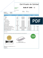 Certificado de Calidad fact. 0001-000184 Liso LLPE  Serie 2486-12 1.00mm (01 rollos).pdf