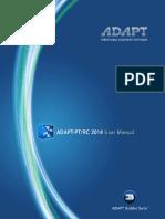 Adapt-ptrc 2014 User Manual