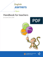 Young Learners Handbook 2018