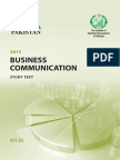 AFC2-Business Communication Studytext