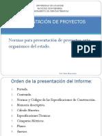 Presentacion de Proyectos