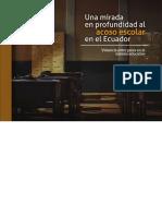 Una Mirada en Profundidad Al Acoso Escolar en El Ecuador