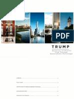 Trump Organization Pamphlet on Foreign Profits