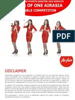 Airasia Berhad 4q16 Earnings