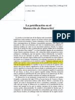 Rubina Celia - La Petrificion en El Manuscrito de Huarochiri