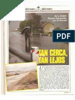 Revista Tráfico - nº 28 - Diciembre de 1987. Reportaje Kilómetro y kilómetro
