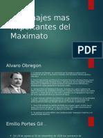 Personajes Mas Importantes Del Maximato