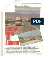 Revista Tráfico - nº 26 - Octubre de 1987. Reportaje Kilómetro y kilómetro