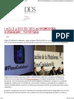 18-05-17 Pleno CiudadanoMX en El Senado - Alcaldes de México