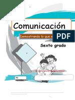 COMUNICACIÓN 6°