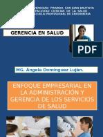 Enfoque Empresarial en La Administración y Gerencia De