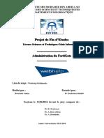 Administration Du FortGate - BOUCHMI Amine_3585
