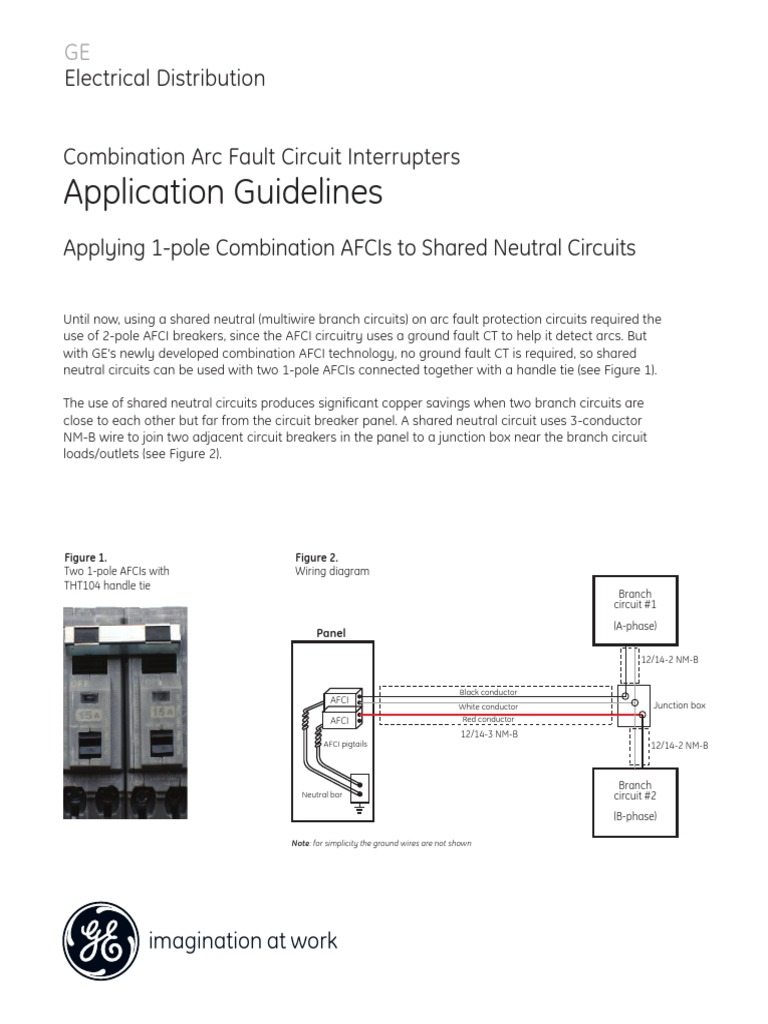 Det 719 Cafci Shared Neutral Guidepdf Power Engineering Electricity Arc Fault Circuit Interrupters Afcis