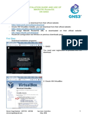 Install Mikrotik on GNS3   Command Line Interface   Router