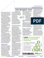 Pharmacy Daily for Thu 25 May 2017 - AFT rides Maxigesic wave, Chemist Warehouse in Sigma sights, Sod turned on new PSA home, Travel Specials and much more