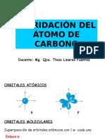 1. HIBRIDACIONES DEL ATOMO DE CARBONO.ppt