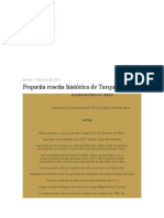 Historia de Tarqui