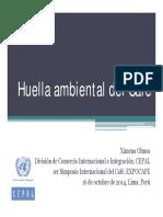 Huella Ambiental Del Cafe Expocafe Lima