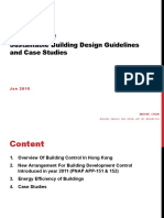 Cpd-2016001 Application of Sustainable Building Design Guidelines and Case Studies