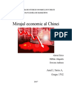 Mirajul Economic Al Chinei