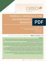 Informe Economico Especial Ix Pobreza e Indigencia - Region Noroeste 2003-2014